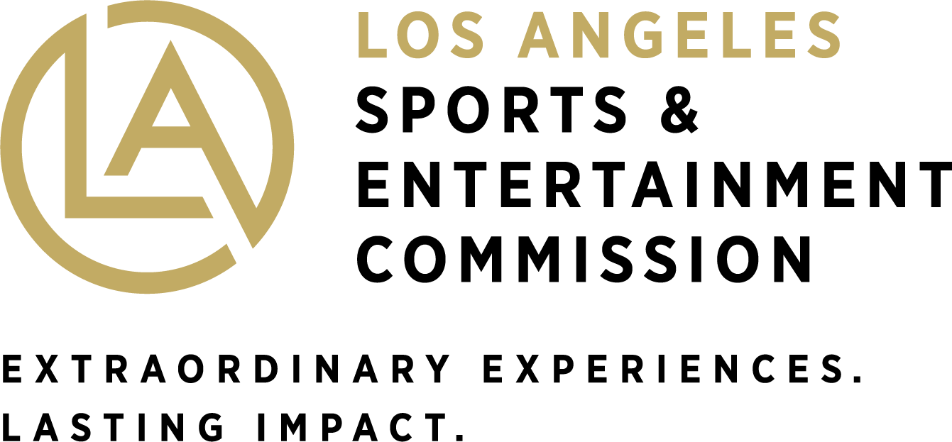LA Sports & Entertainment Commission logo