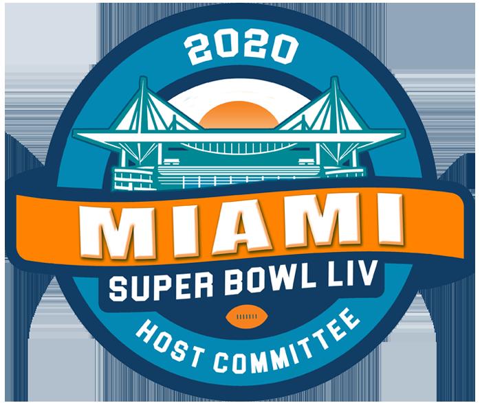 Miami Super Bowl Host Committee logo