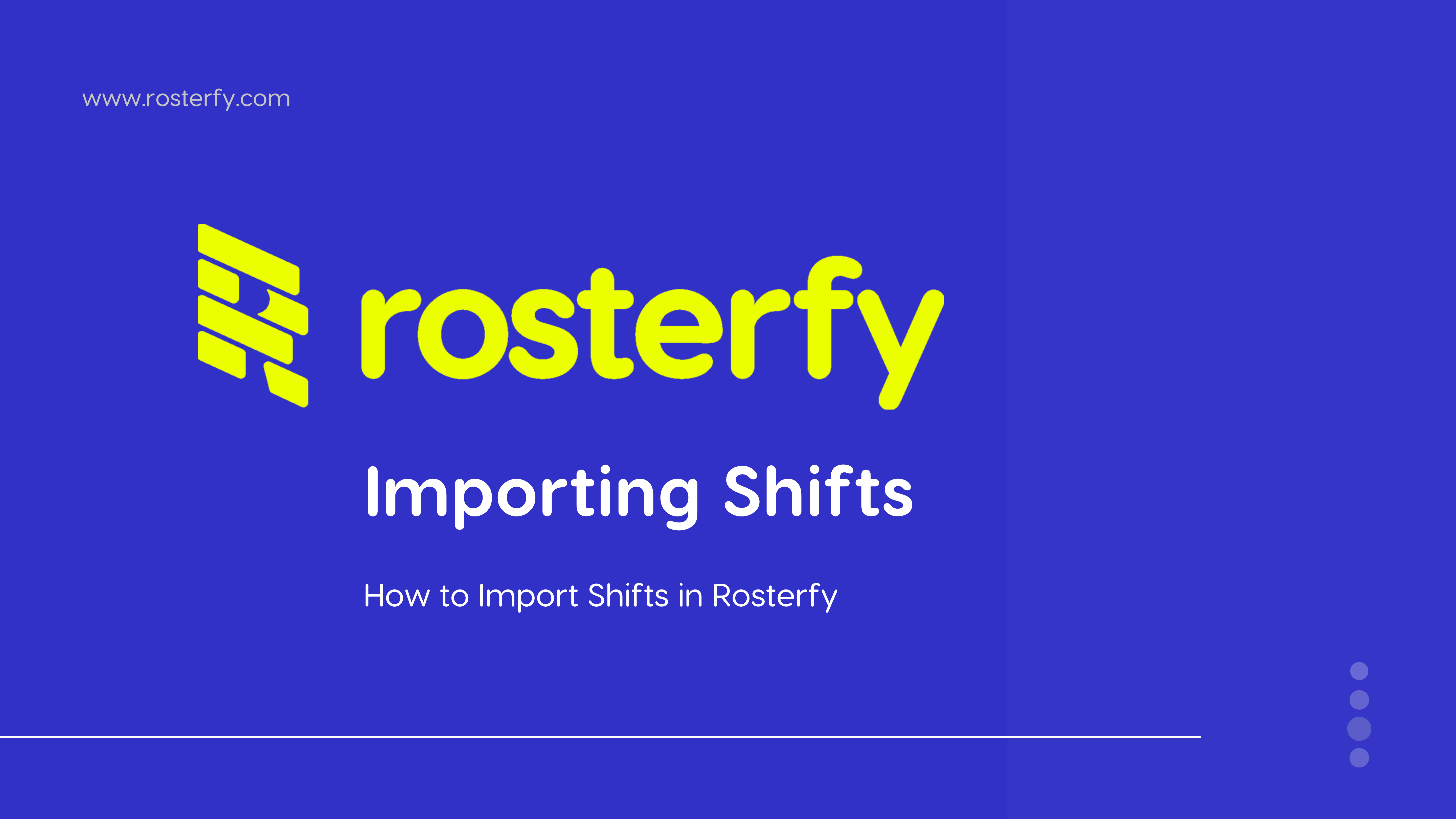 Importing Shifts (1)