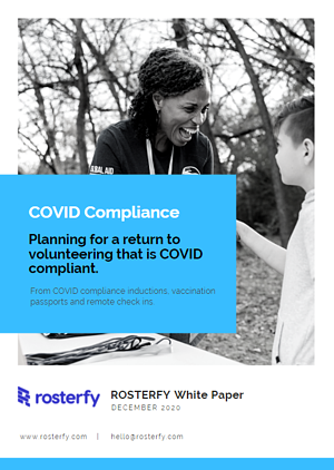 COVID Volunteer Compliance White Paper Image
