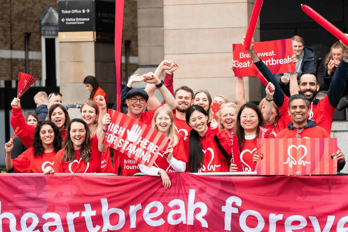 Rosterfy selected as volunteer management solution for British Heart Foundation