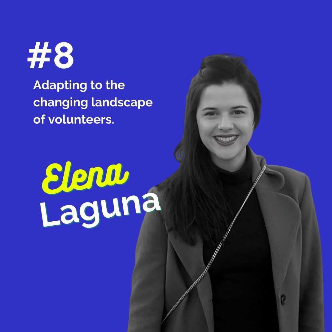 Elena Laguna_Image_ The Engaged Volunteer Podcast