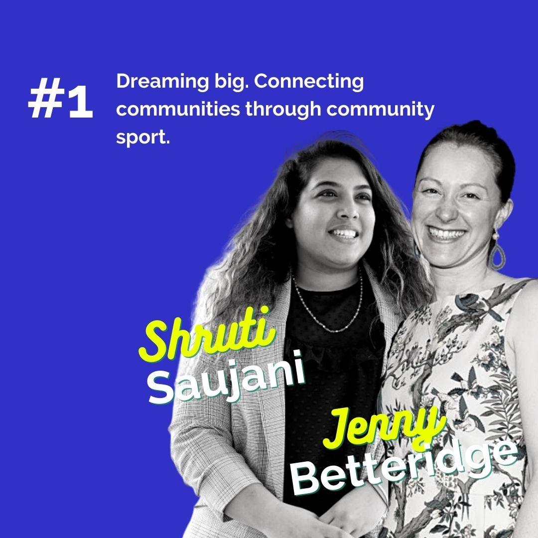 Jenny Betterridge & Shruti Saujani_Image_ The Engaged Volunteer Podcast